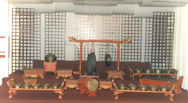 gamelan historique de Cirebon