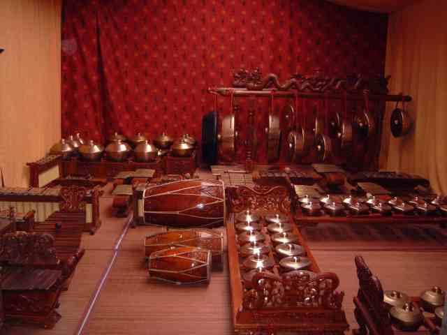 gamelan javanais Nawang Wulan